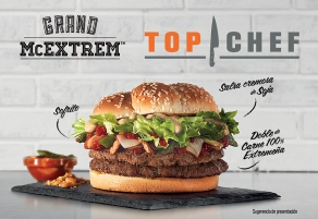La hamburguesa de Top Chef